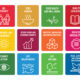 What are the 17 main goals of Sustainability Development by the United Nation
